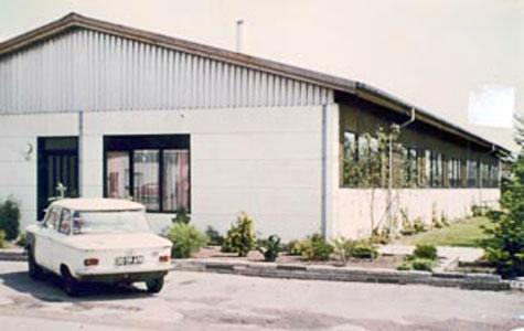 Knudsens Værktøjsfabrik havde til huse i Håndværkerbyen 10, og var bygget i 1971.