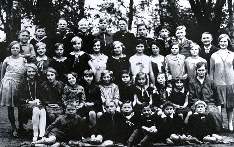 Klassebillede ca 1920