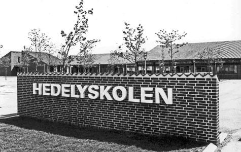 Hedelyskolen i 1970.