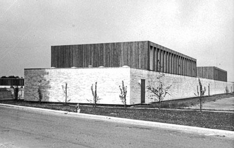 Krogårdskolen i 1966.