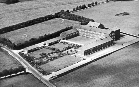 Greve-Kildebrønde Centralskole i 1954.
