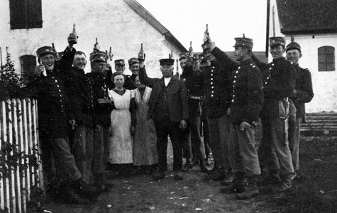 Soldaterbillede af M.S.Nielsen.