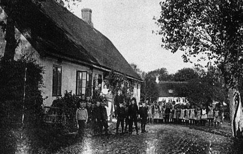Greve Gl. Skole ca 1910.