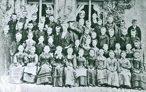 Karlslunde Gl. Skole ca 1890