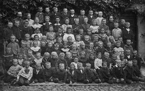 Karlslunde Gl. Skole ca 1909