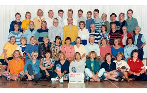 Lærerne på Karlslunde Skole 1994