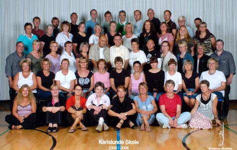 Lærere Karlslunde Skole 2005