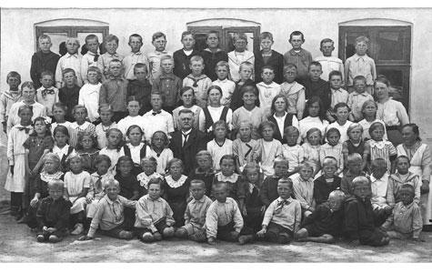 Kildebrønde Gl. Skole ca 1910