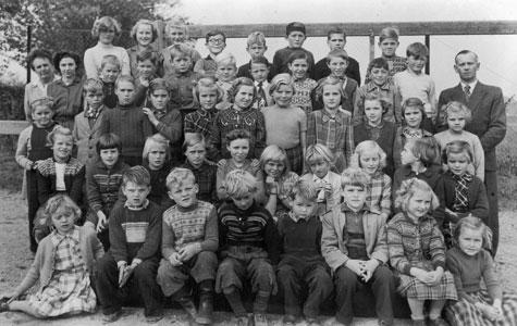 Kildebrønde Gl Skole ca 1950