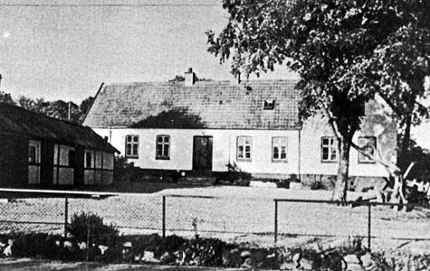 Mosede Gl. Skole ca 1920.