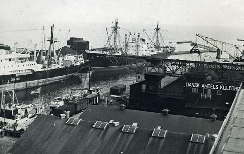 Travlhed i Køge Havn