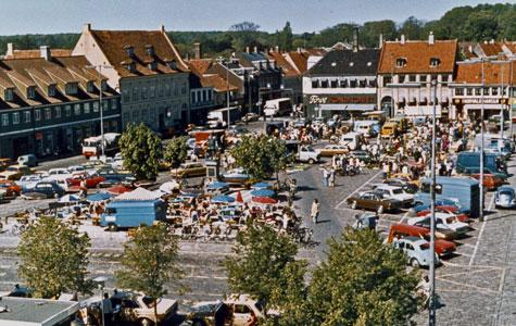 Torvebillede fra slutningen af 1970'erne