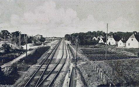 Herfølge Station - Jernbanespor