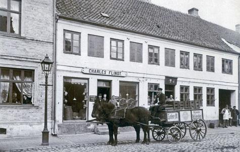 Købmand Flindt, Vestergade 20