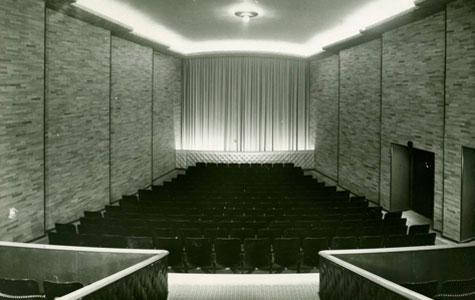 Billede inde fra biografsalen, taget i 1941