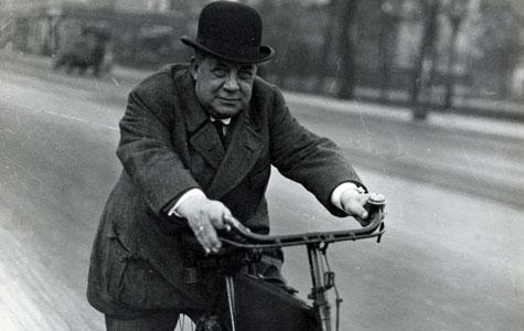 Albert Theilgård (1877-1936) etablerede gummifabrikken i Køge i 1908. Billedet er fra 1920'erne.