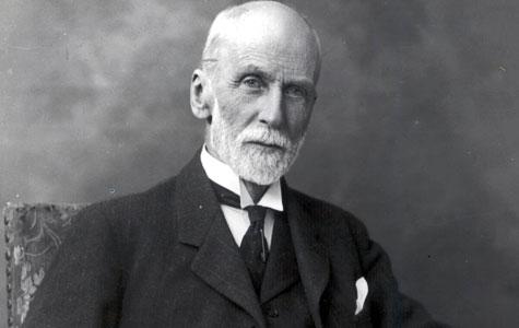 Andreas Collstrop, der anlagde Collstrops Imprægneringsanstalt i Køge 1889. Ligesom mange andre af fabrikkernes ejere boede han ikke i Køge.