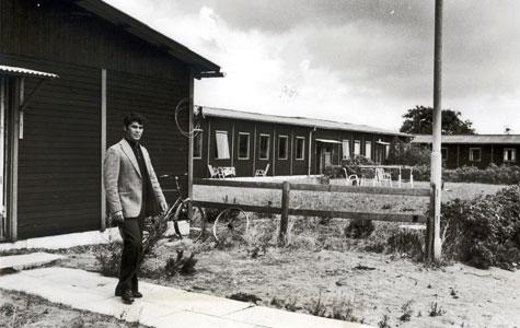 I 1960'erne kom de såkaldte gæstearbejdere til Køge. De boede bl.a. i dette gæstearbejder kollegium i Nørremarken. Billedet er taget i 1976.