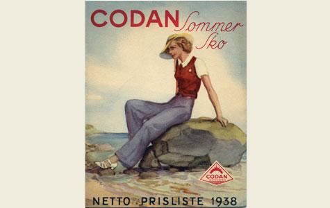 Reklame for Codan sommersko, 1938