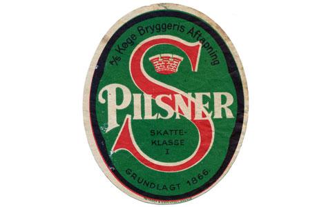 Øl - Køge Bryggeri (1866-1941) fremstillede øl og sodavand