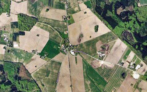 Lammestrup er et eksempel på en typisk dansk landsby