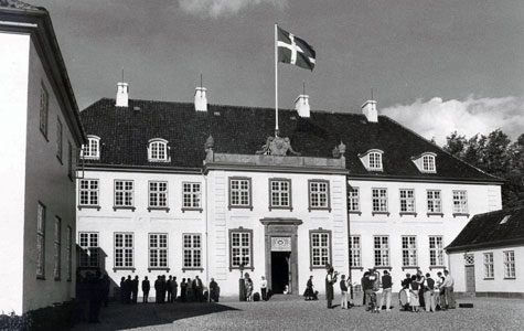 Hovedbygningen på Svenstrup Gods