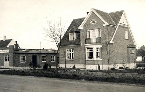 Bygmesterhus - Vordingborgvej 39 1900 - 1940