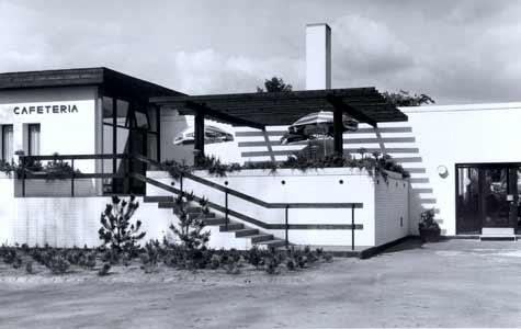 Modernisme Hotel Hvide Hus 1950 - 1975