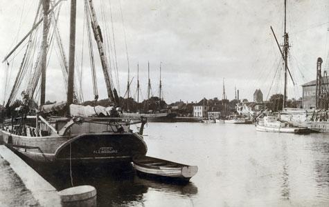 Parti fra Køge Havn