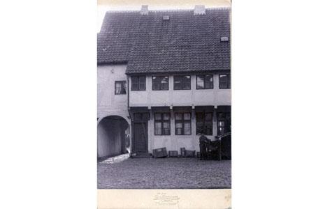 Billede fra baggården i Nørregade 22