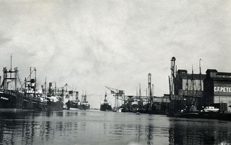 Køge Havn 1943