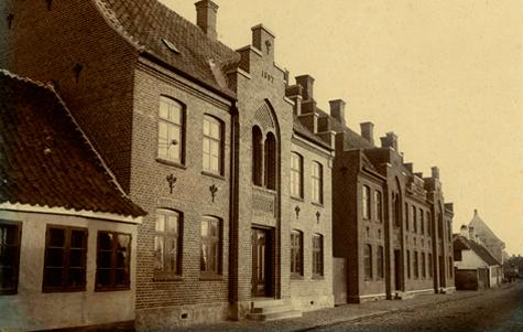 Historicisme - Vestergade 36 - 40 1880 - 1910
