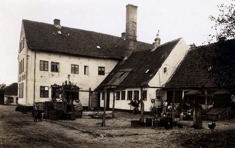 Brogade 23 i 1914, set fra bagsiden