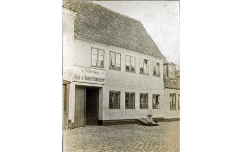 Kirkestræde 6 i 1910
