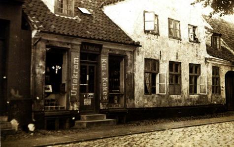 Kirkestræde 23 fotograferet ca 1900