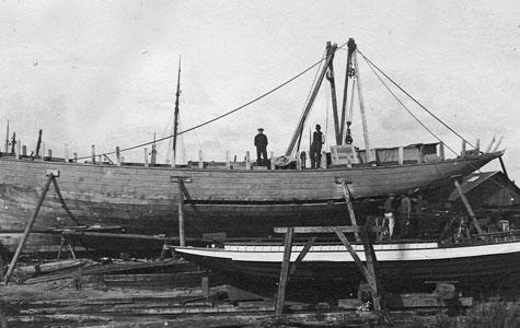 Larsens Skibsværft - Islandsk fiskebåd, Ingeborg ca 1913