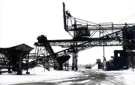 Nordre kajgades kulkran. Kranen var opført af Titan i Randers o 1915. Køge Kl flyttede den til Køge i 1934. Nedrevet i 1992. Sammen med kranen på Sdr. kaj (nedrevet 2000) var de markante vartegn for byen