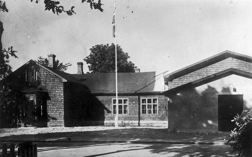 Folkets hus i Havdrup ca.1936