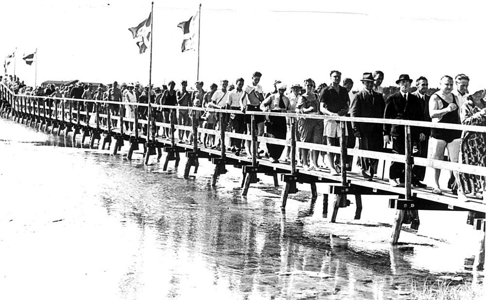 Broindvielse ved StauningsØ