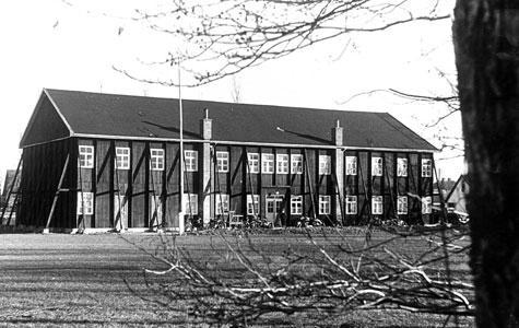 Den gamle Idrætshal ca. 1950