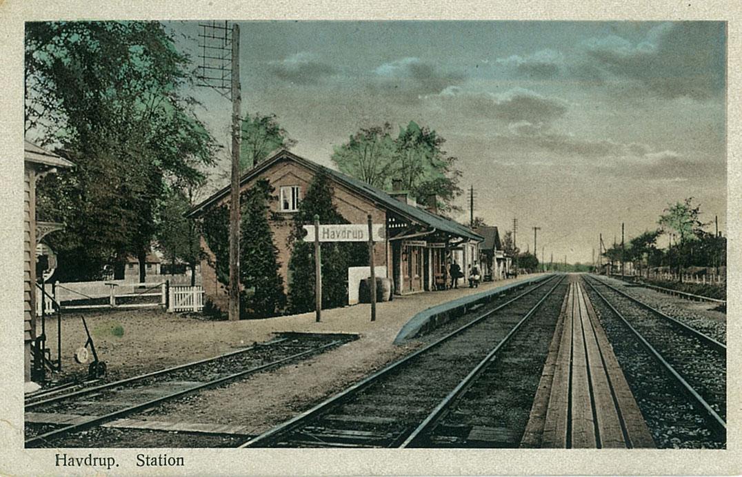 Havdrup station ca. 1920