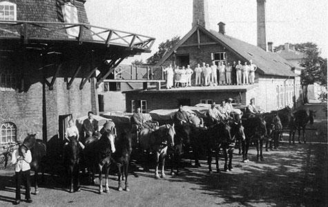 Havdrup Andelsbageri i 1945.