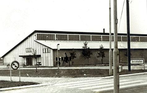 Med alle de børn og unge der flyttede til Solrød blev der stort behov for steder hvor man kunne dyrke sport. Jersiehallen blev færdig i 1971.