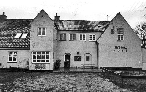 Jersie Skole blev bygget i 1916. Den er blevet udvidet mange gange og ligger stadig på Åsvej i Jersie.