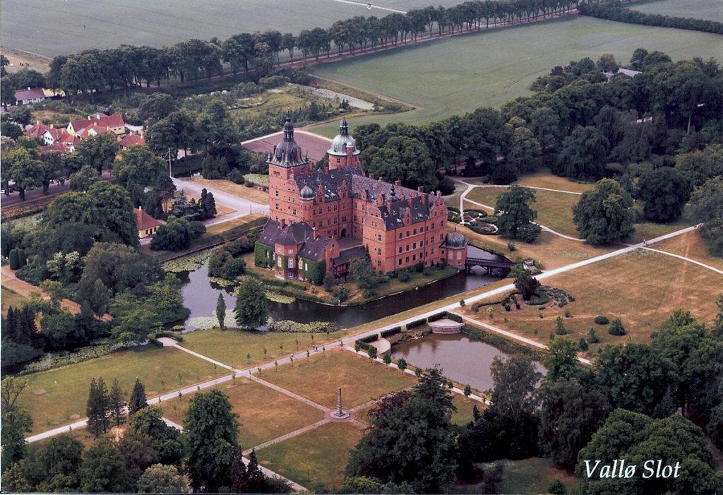 Luftfoto fra Vallø Stift fra 1992