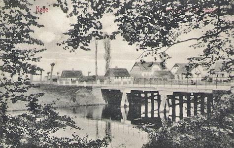 Prambroen ved Strøby Egede i ca 1900.