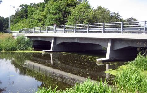 Prambroen ved Strøby Egede i 2009.