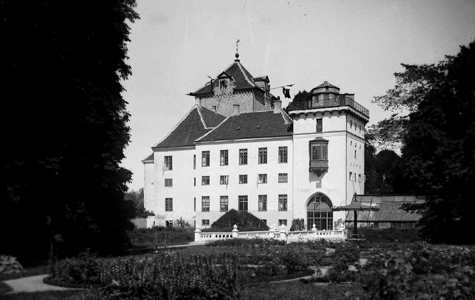 Gjorslev Slot i 1920.