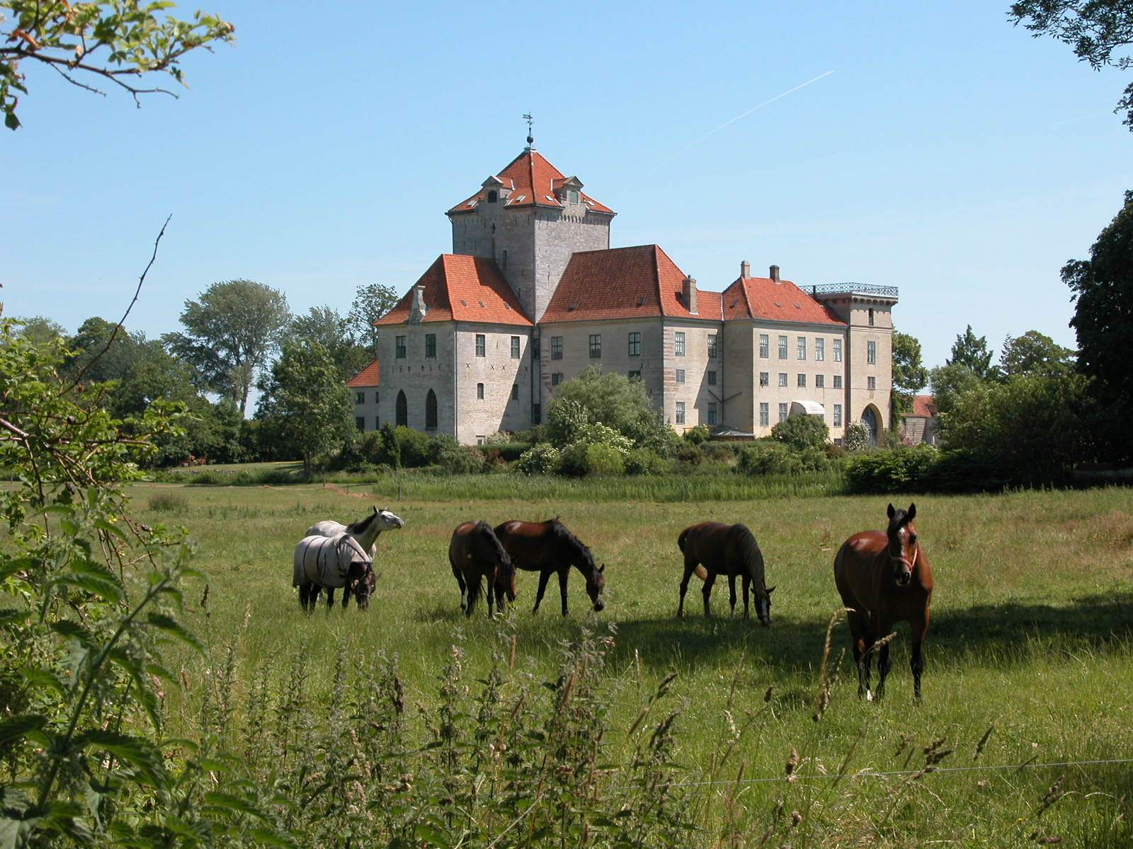 Gjorslev slot 2007