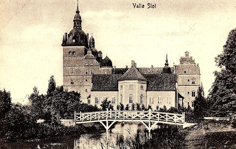 Vallø Slot i 1920'erne